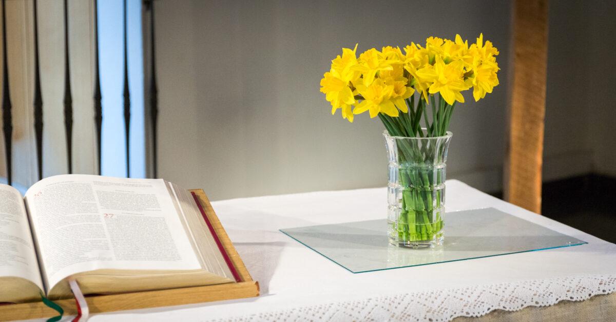 Kristus är uppstånden, 2020-04-12 (Karin Wiborn)